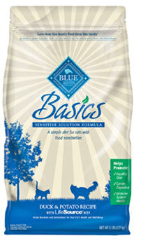 Blue Buffalo Basics Duck and Potato Dry Cat Food