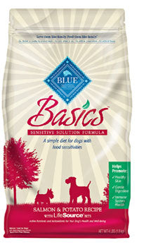 Blue Buffalo Basics Salmon and Potato Dry Dog Food