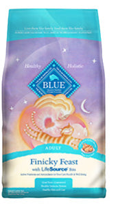 Blue Buffalo Adult Finicky Feast Chicken and Turkey Dry Cat Food