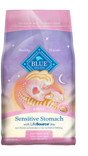 Blue Buffalo Sensitive Stomach Chicken and Brown Rice Dry Cat Food