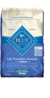 Blue Buffalo Large Breed Healthy Weight Chicken and Brown Rice Dry Dog Food