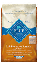 Blue Buffalo Large Breed Senior Chicken and Brown Rice Dry Dog Food