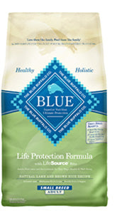 Blue Buffalo Small Breed Lamb and Brown Rice Dry Dog Food