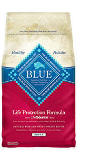 Blue Buffalo Adult Fish and Sweet Potato Dry Dog Food