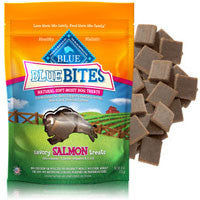Blue Buffalo Blue Bites Salmon Dog Treats 6oz Bag