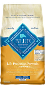 Blue Buffalo Small Breed Healthy Weight Chicken and Brown Rice Dry Dog Food