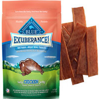 Blue Buffalo Exuberance Natural Jerky Chicken Dog Treats 3.25 oz Bag