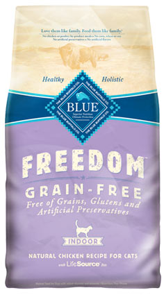 Blue Buffalo Freedom Grain-Free Chicken Indoor Dry Cat Food