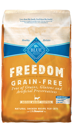 Blue Buffalo Freedom Grain-Free Weight Control Indoor Dry Cat Food