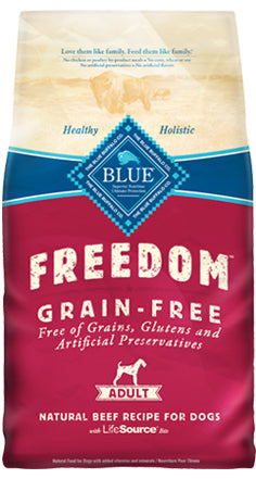 Blue Buffalo Freedom Grain Free Adult Beef Dry Dog Food
