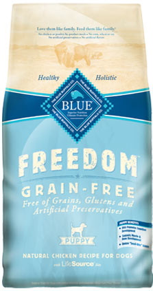 Blue Buffalo Freedom Grain-Free Puppy Chicken Dry Dog Food