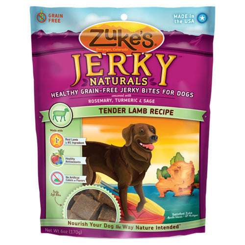 Zuke's Jerky Natural Lamb Dog Treats