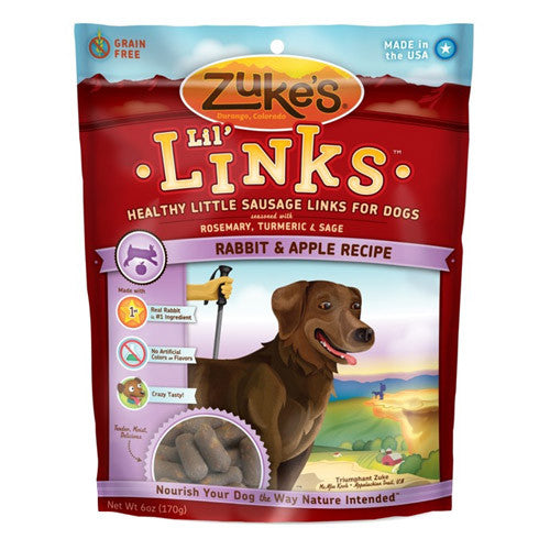 Zuke's Lil' Links Rabbit & Apple Recipe