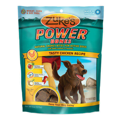 Zuke's Power Bones Chicken Dog Treats