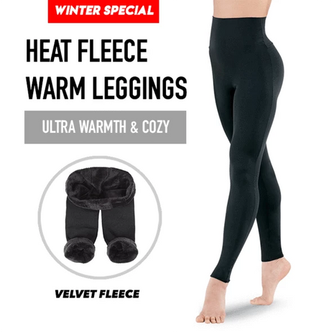 Ultra Warming Winter Leggings (Black)