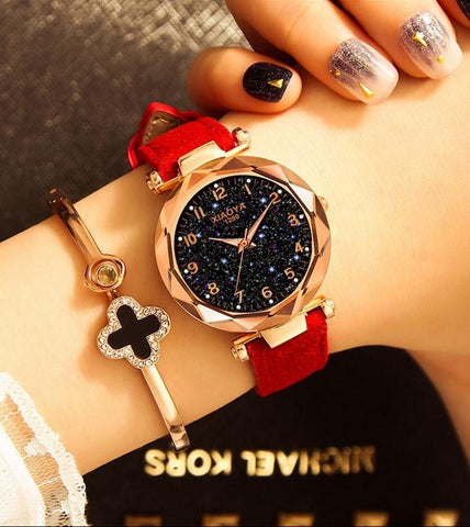 Image of Starry Sky Fashion Quartz Luminous Watch