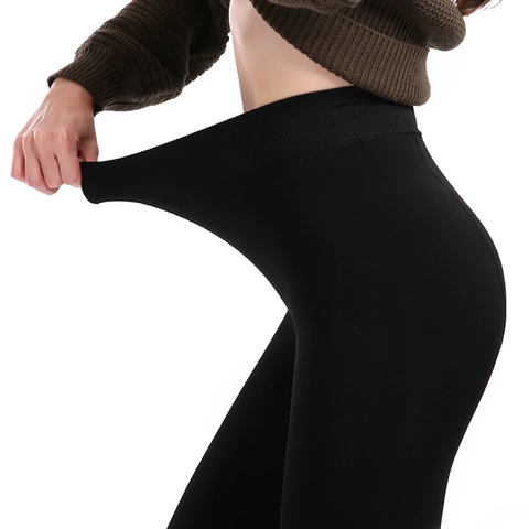 Ultra Warm Winter Leggings (Black)