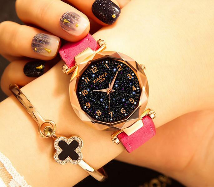 Starry Sky Fashion Quartz Luminous Watch