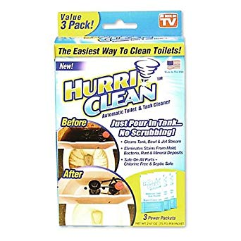 HURRI CLEAN (PACK OF 3)