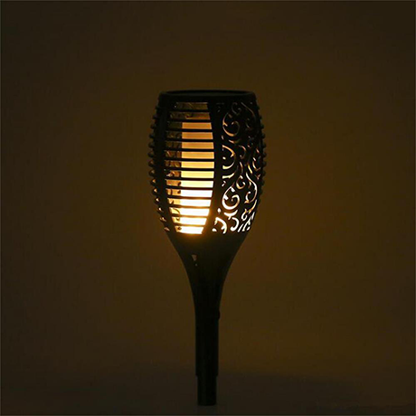 British Solar Flame Flickering Lamp Torch