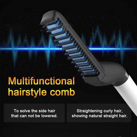 MENS STYLING - COMB + BEARD & HAIR STRAIGHTENER