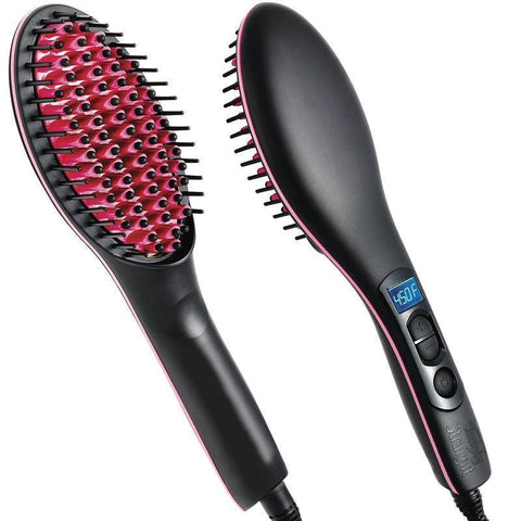 HAIR STRAIGHTENER COMB WITH TEMPERATURE SETTING
