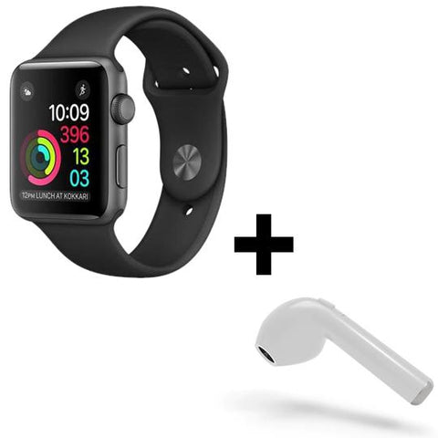 Image of Android/iOS Smart Watch + Bluetooth HBQI7 Headset (FREE)