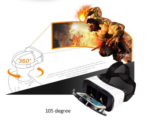 Image of Biosafe VR Box 5.0 3D Glasses With 6.0'' 4K Display AR Virtual Reality