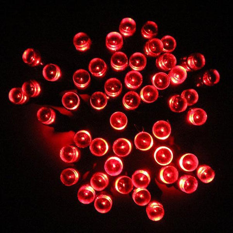 Image of British LED Solar Powered Fairy Lights