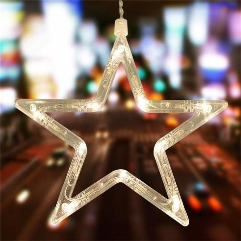 Image of British LED Star String Lights