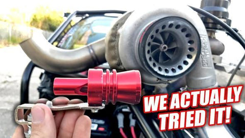 FERRARI/HAYABUSA STYLED EXHAUST PIPE OVERSIZED ROAR MAKER(CARS AND MOTORCYCLES)