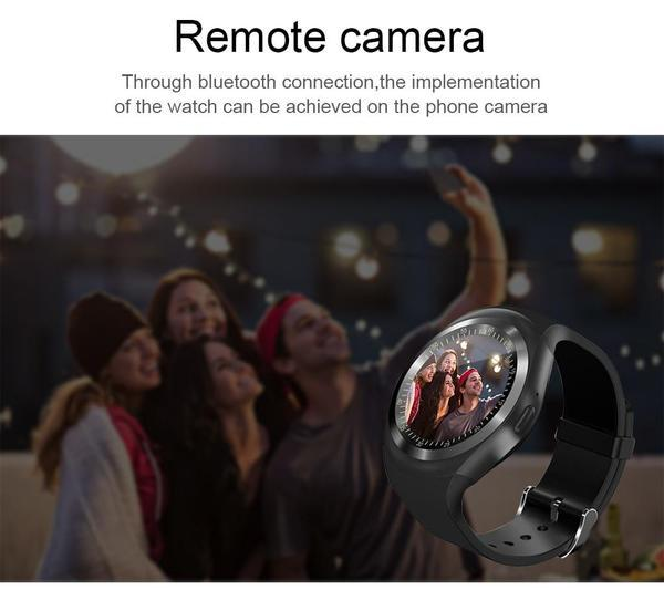 MULTI FUNCTIONAL SMARTWATCH + Bluetooth HBQI7 Headset (FREE)