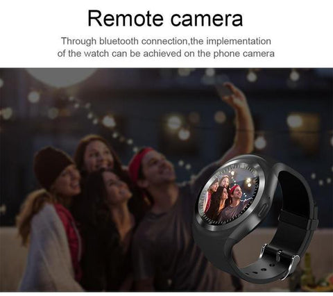 Image of MULTI FUNCTIONAL SMARTWATCH + Bluetooth HBQI7 Headset (FREE)