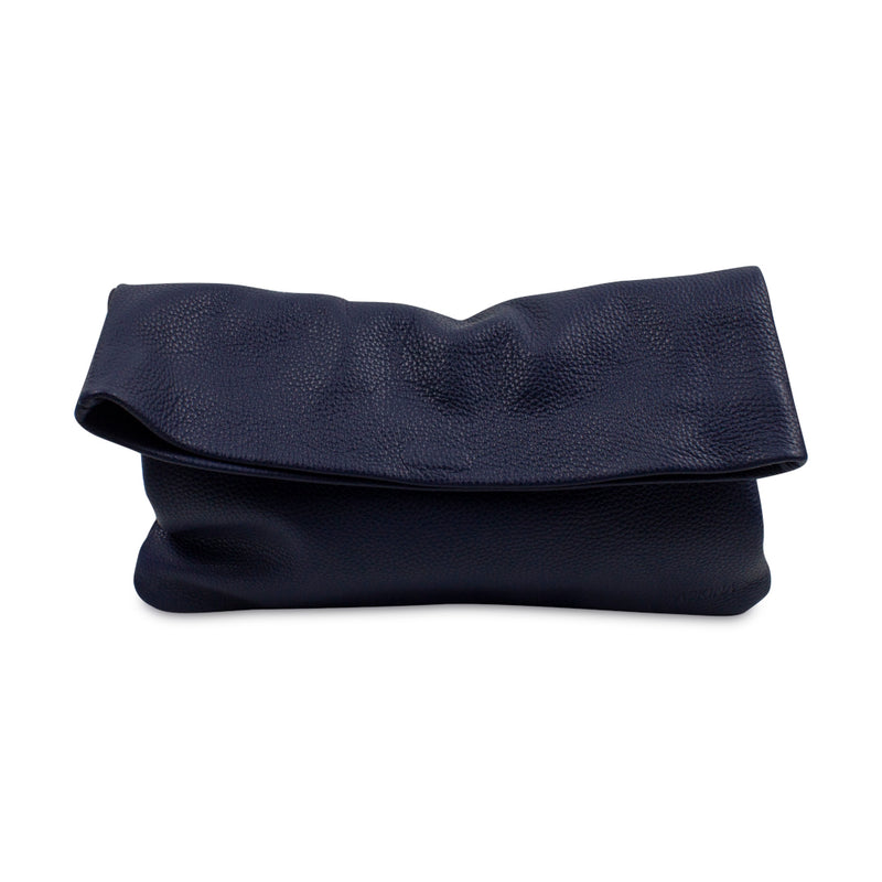 Clutch - PLIEZ-MOI size M (tablet) - Navy blue