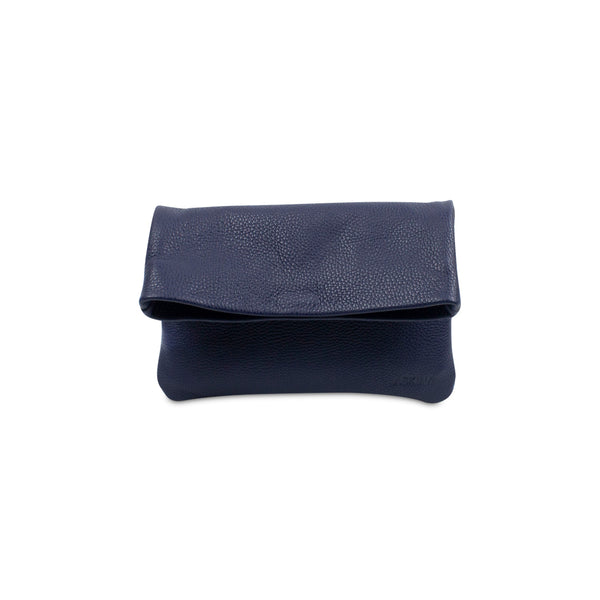 Clutch - PLIEZ-MOI size S (phone and more) - Marine blue