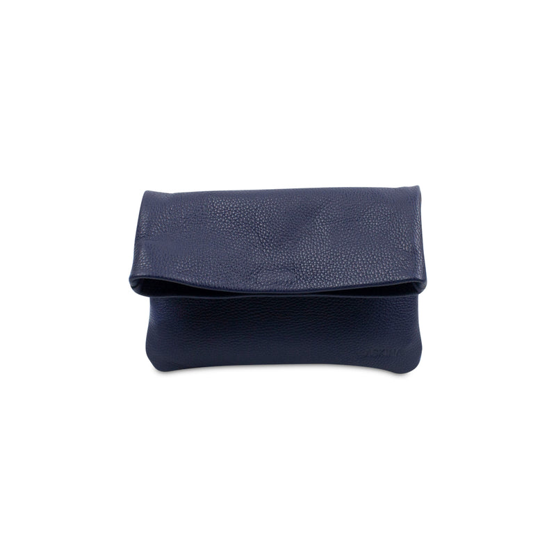 Clutch - PLIEZ-MOI size S (phone and more) - Navy blue