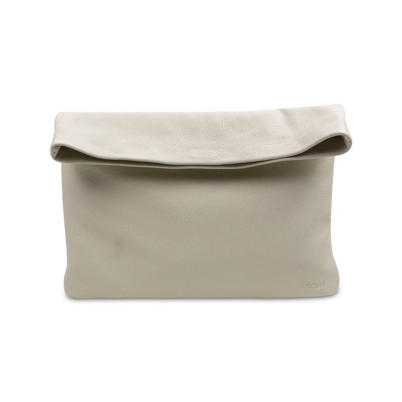 Clutch - PLIEZ-MOI size M (tablet) - Cream