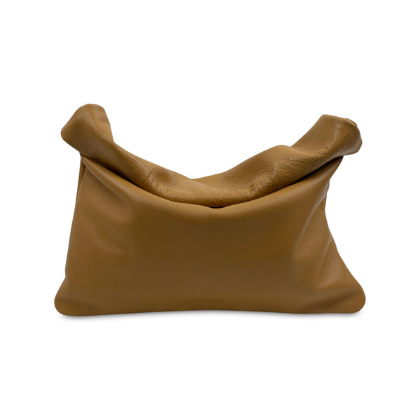 Clutch PLIEZ-MOI size M (tablet) - Tan