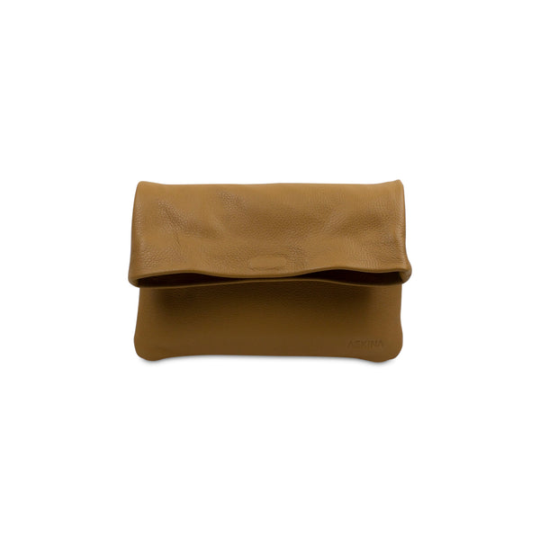 Clutch - PLIEZ-MOI size S (phone and more) - Tan