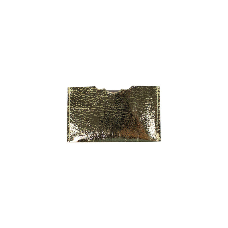 Single card holder - Gold/Silver