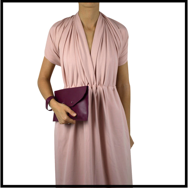 Convertible dress - Nude pink