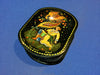 Russian Hand Painted Lacquer Trinket Box