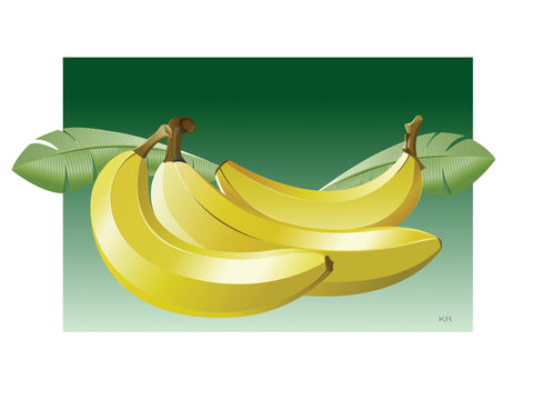 Ken Reilly Banana Graphic
