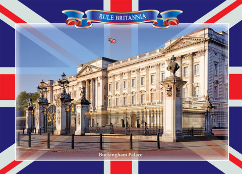 ---  Buckingham Palace  ---  Pack of 5 postcards