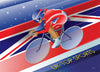 -- Speed Skater -- Pack of 4 postcards