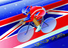 -- Dream Cyclist -- Pack of 4 UK TOP Sports Postcards
