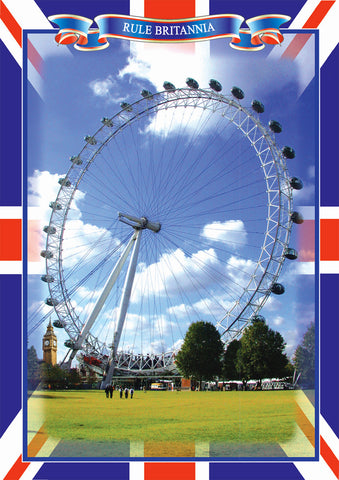 --- The London Eye Postcard --- Pack of 5