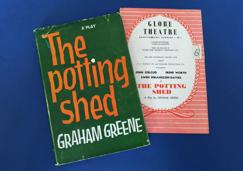 The Potting Shed - Graham Greene - First Edition