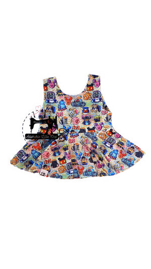 Disney Peplum Top