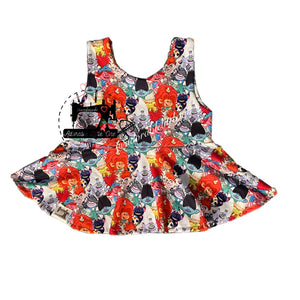 Trolls World Tour Peplum